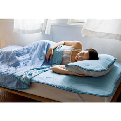 セミダブル 3点(ひんやり除湿寝具デオアイスエアドライシリ…