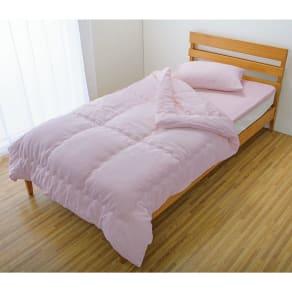 掛け布団シングル3点セット(今治製タオルの寝具シリーズ お得な掛け敷きセット(ピローケース付き) 染色)