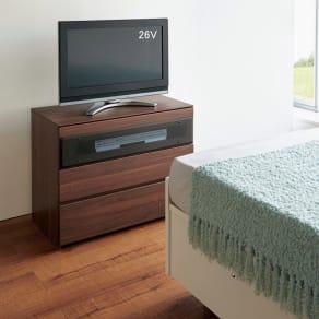 パモウナGV-80ダイニングからシアターリビングシリーズ テレビ台・テレビボード 幅80cm