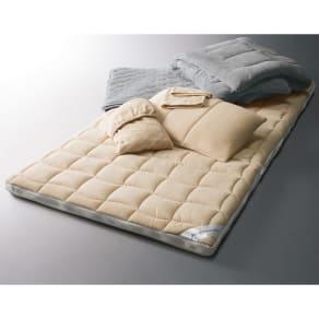 ブレスエアー(R)×ヒートループDX ディノス寝具ベストヒット シングル6点セット