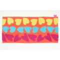 【アツコマタノ/ATSUKO MATANO】フェイスタオル同色2枚組 ビッグハート