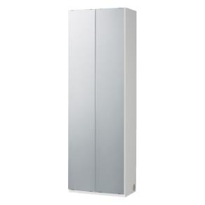 奥行34cm薄型なのに収納すっきり!スマート壁面収納シリーズ 収納庫 ミラー扉タイプ 幅60cm