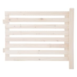 木製ボーダーフェンス フェンス延長用