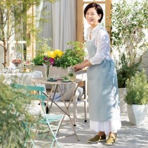 「ミスキョウコ」プロデュース ガーデンストーリーおもてなしエプロン