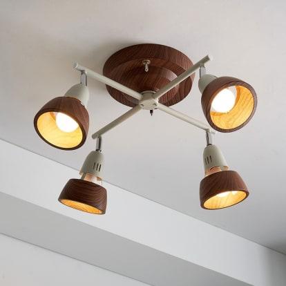 ハーモニーシーリングライト 4灯クロス