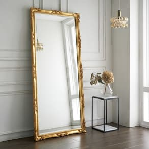イタリア製スタンドミラー(鏡)大 幅83cm高さ181.5cm
