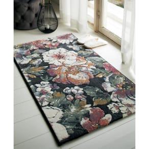 約60×90cm(ベルギー製ウィルトン織りマット〈フィデリオ〉)