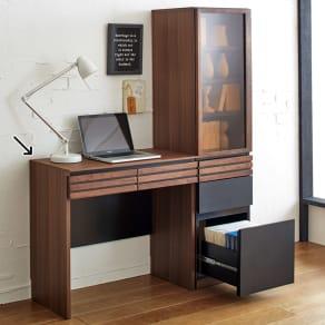 AlusStyle/アルススタイル 薄型ホームオフィス デスク 幅80.5cm