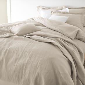 クイーンロング(French Linen/フレンチリネン カバーリング 掛けカバー プレーン)