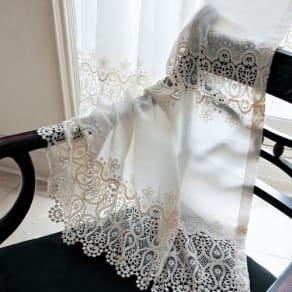 幅100×丈103cm(1枚)(Ira/アイラ トルコ製生地使用レースカーテン(1枚))