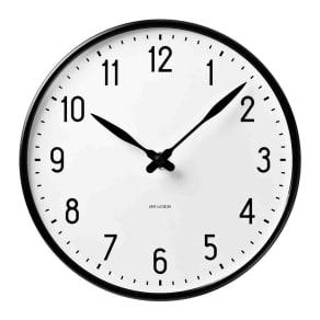 ARNE JACOBSEN/アルネヤコブセン 壁掛け時計 ステーション 径29cm
