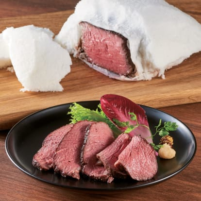 上州牛の塩釜焼ローストビーフ【通常お届け】