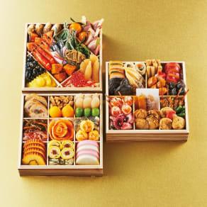 博多 日本料理 てら岡 「宝楽」 和3段重(約4人前) 全46品