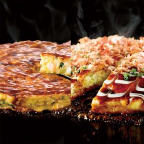「千房」 お好み焼き食べ比べセット
