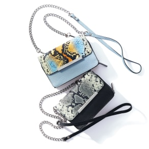 ARCADIA/アルカディア ラウンド財布付き チェーンバッグ(イタリア製)