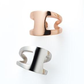 Prima Preziosi/プリマプレッジオシ SV デザイン リング(イタリア製)
