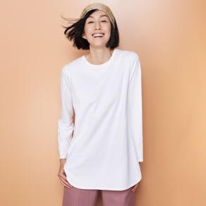 オーガニックコットン レイヤード Tシャツ