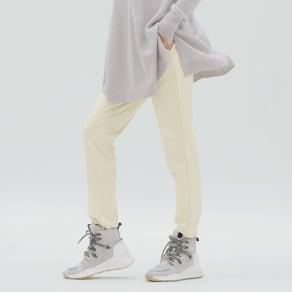 【股下丈68cm】ダウンファブリック スリムパンツ