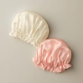 シルクおやすみナイト帽子