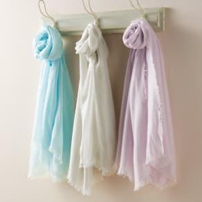 笹田織物 UVシルクエアリーストール(日本製)