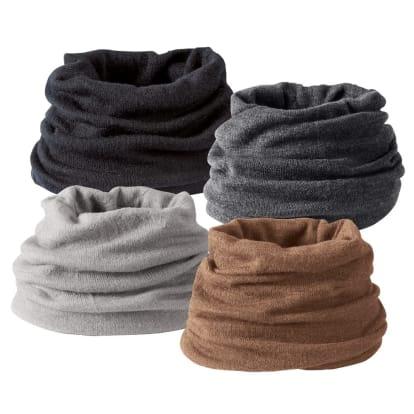 シルク美人シリーズ メリノウール×内側起毛シルク UVネックウォーマー