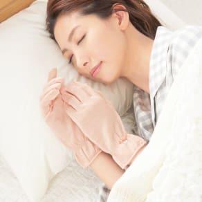 シルク おやすみ手袋(2セット)
