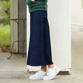 リジッド風 デニムスカート