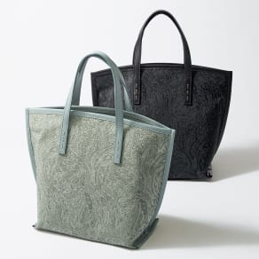 NAGATANI/ナガタニ 素材コンビ トートバッグ
