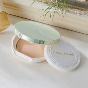 かづき UVシルクベールパウダープレスト コンパクトケース