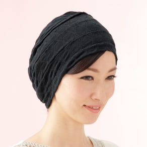 シルク100% 国産おうち帽子