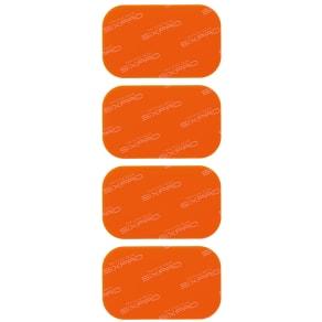 SIXPAD/シックスパッド Chest Fit(チェストフィット) Chest Fit専用高電導ジェルシート 4枚