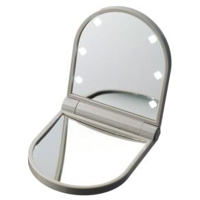 KOBAKOシリーズ コスメティックミラー(約10倍拡大鏡・LEDライト付)