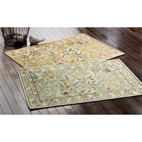 約45×75cm モリスゴブラン織りマット〈フルーツ〉