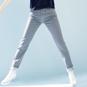 【股下丈65cm】 JAPANデニム スリム ストレートパンツ