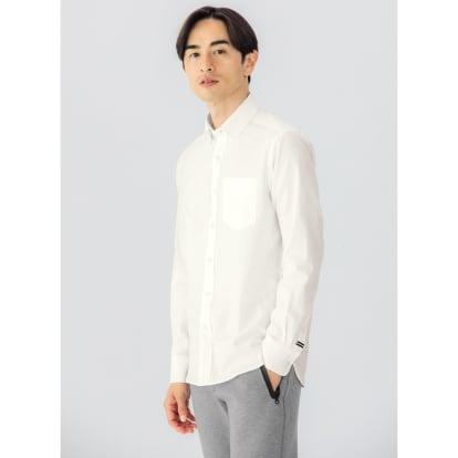 SCENE(R)/シーン 7DAYSジャパンメイドシャツシリーズ ホワイトツイル