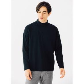 「i cotoni di ALBINI」 超長綿ハイネックTシャツ