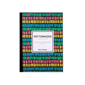 ラッピングペーパー ブック型12枚入り パターン
