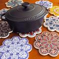 iznik トリベット トルコ製の鍋敷き