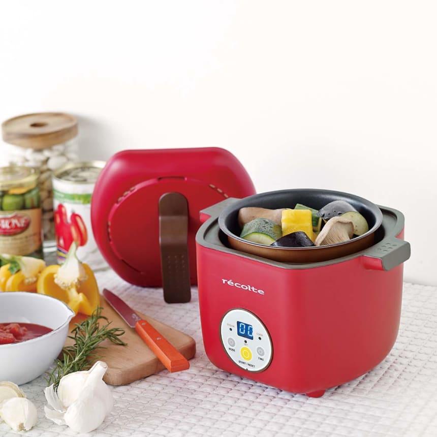 recolte/レコルト ヘルシーコトコト 湯せん調理 電気鍋