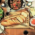 パンくずが散らからないまな板&ナイフのセット【ブレッドカッティングボード】