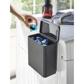 Tower/タワー マグネット洗濯洗剤ボールストッカー