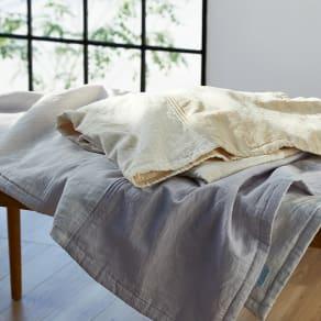 季ノ布 しなやか涼感 風の便り 洗える麻肌掛けふとん シングルサイズ