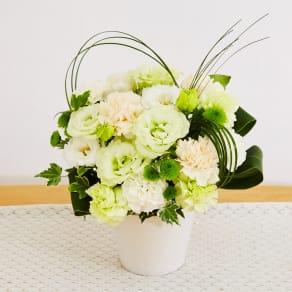生花お供えアレンジメント「花ごころ」