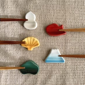 LE CREUSET/ル・クルーゼ 「ラッキーモチーフコレクション」縁起物 箸置きセット