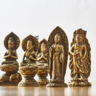 ミニ仏像 八体仏