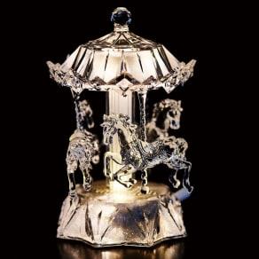 〈ハルモニア〉 メリーゴーランド型オルゴール