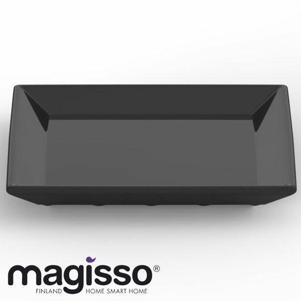 magisso ブラックカラーテラコッタ サービングプレート正方形