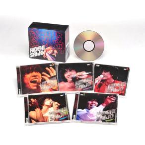 西城秀樹 絶叫・情熱・感激 CD4枚組、DVD1枚