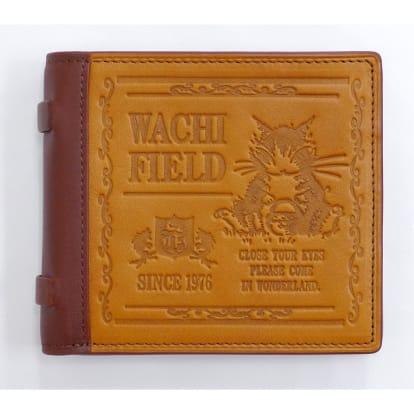 わちふぃーるど/オールドブック二つ折り財布 いちご摘み