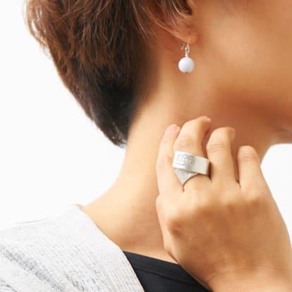 NAGAE+(ナガエプリュス)/(10×80mm)TIN BREATH Ring ティンブレスリング シルバー色